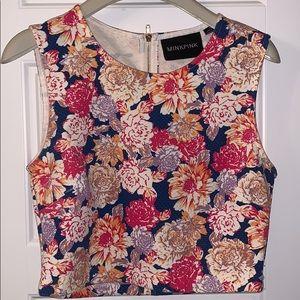 MINKPINK floral vest